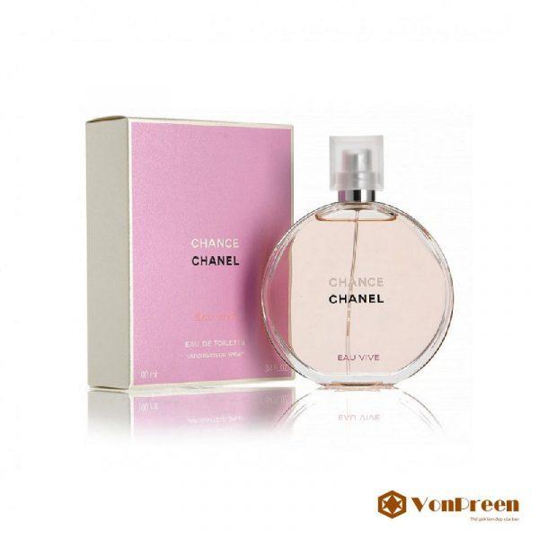 Nước hoa Chance 100ml, ngọt ngào, thanh lịch, sang trọng, thơm lâu dành cho phái nữ.