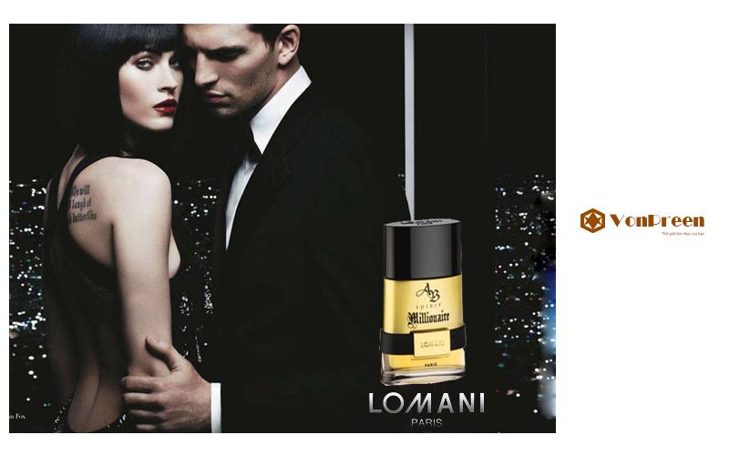 Nước hoa Lomani Ab Spirit Nam 100ml, mạnh mẽ, sang trọng, quý phái, nồng nàn