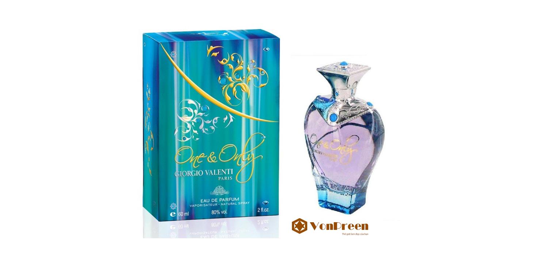 Nước hoa Giorgio Valenti One & Only 60 ml, mang lại hương thơm tinh tế, thanh lịch, gợi cảm.