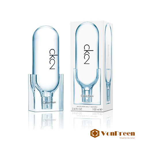 ck2, Nước hoa Calvin Klein, nước hoa dành cho cả Nam và Nữ, hương thơm quyến rũ, ngọt ngào