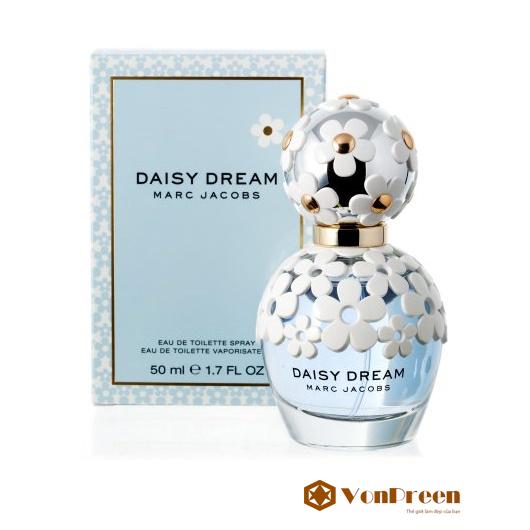 Nước Hoa Daisy Dream Marc Jacobs 100 ml, hương thơm nồng nàn, quyến rũ, thanh lịch, cao cấp.