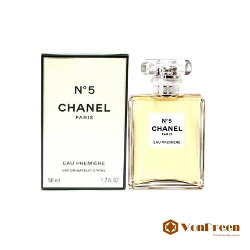 Nước hoa chanel No.5 50ml Eau Premiere for women, hương thơm tinh tế, nhẹ nhàng, quyến rũ.