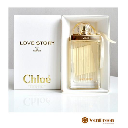 Nước hoa Chloe Love Story 50ml, mang lại hương thơm quyến rũ, Nữ tính, tươi trẻ cho phái đẹp