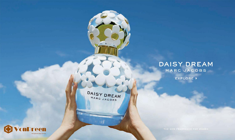 Nước Hoa Daisy Dream Marc Jacobs 50ml, hương thơm nồng nàn, quyến rũ, thanh lịch, cao cấp.