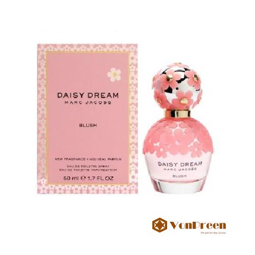 Nước Hoa Daisy Dream Blush Marc Jacobs 50 ml, hương thơm nồng nàn, quyến rũ, thanh lịch.