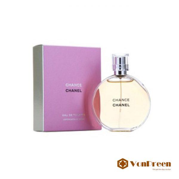 Nước hoa Chanel Chance, với hương thơm tinh tế, cổ điển, pha chút hương vị duyên dáng, tươi trẻ