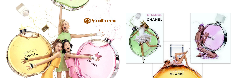 Nước hoa Chanel Chance, nước hoa cho phái nữ hương thơm quyến rũ, tinh tế ngọt ngào