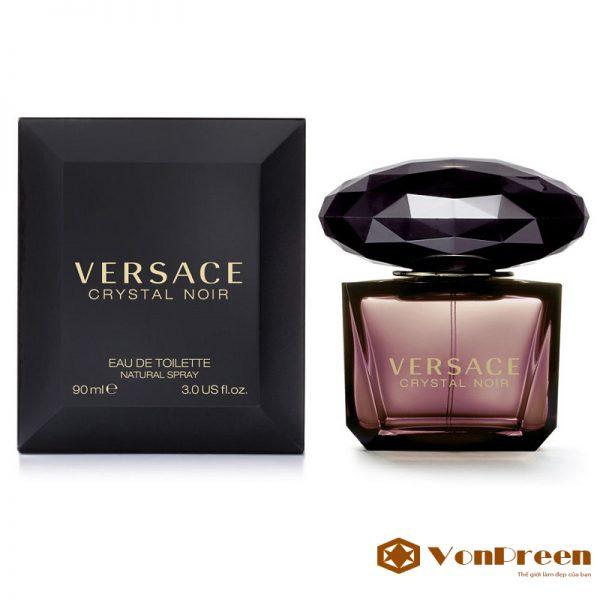 Nước Hoa Versace Crystal Noir, Eau De Toilette 30ml, nước hoa nữ của Ý, cao cấp, chính hãng