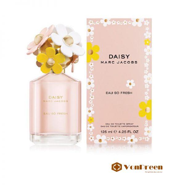 Nước Hoa Daisy Eau so Fresh Marc Jacobs 125ml, hương thơm tinh tế, ngọt ngào, thanh khiết.