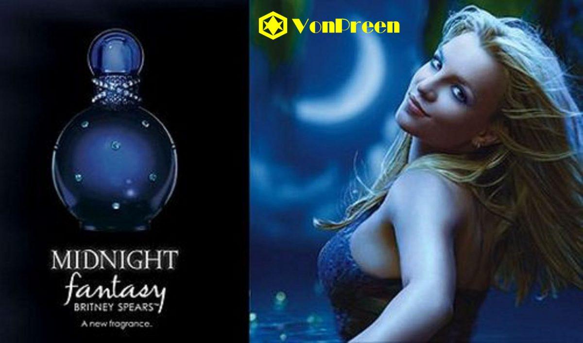 Nước hoa Midnight Fantasy 50ml, đắm chìm trong hương thơm nồng nà, bí ẩn, sang trọng, thanh lịch.