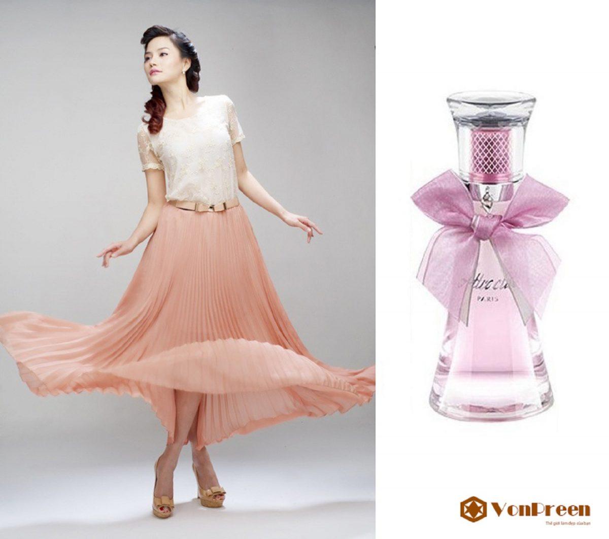 Nước hoa Lomani Attractive 100ml, mang đến hương thơm nồng nàn, quý phái, sang trọng, Nữ tính.