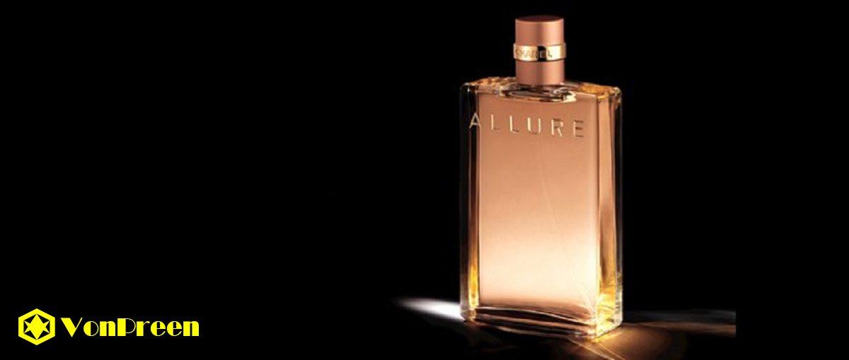Nước Hoa Allure Chanel , Nữ tính, nhẹ nhàng, cổ điển, quyến rũ, ngọt dịu, hương vani