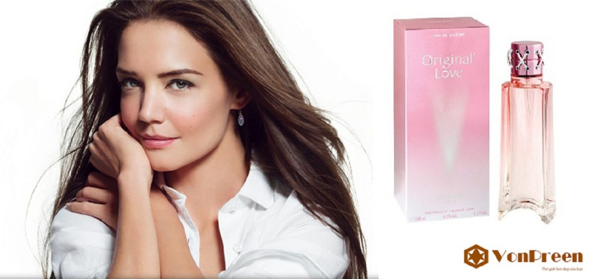 Nước hoa Original Love 100ml, mang đến hương thơm sang trọng, quý phái, thanh lịch, Nữ tính.